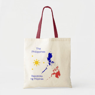 Philippines Map Graphic Canvas Bag