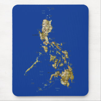 Philippines Map Mousepad