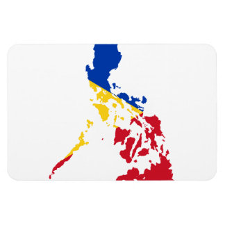 PHILIPPINES MAP RECTANGULAR MAGNETS
