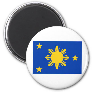 Philippines naval jack 6 cm round magnet