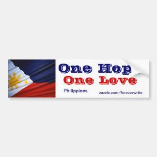 philippines one love bumper sticker