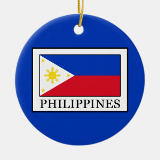 Philippines Round Ceramic Decoration