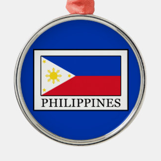 Philippines Silver-Colored Round Decoration