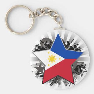 Philippines Star Key Ring