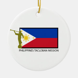 PHILIPPINES TACLOBAN MISSION LDS CTR ROUND CERAMIC DECORATION