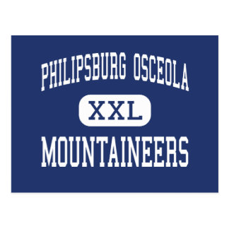 Philipsburg Osceola - Mountaineers - Philipsburg Postcard