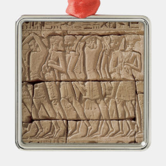 Philistine prisoners being led away christmas ornament
