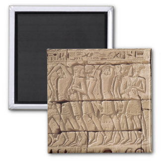 Philistine prisoners being led away magnet