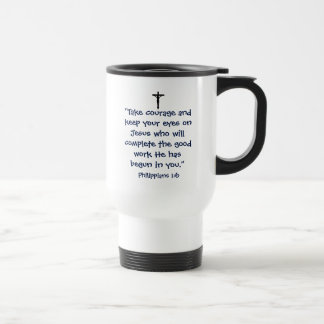 Phillipians 1:6 Travel Mug