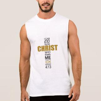 Phillipians 4:13 sleeveless shirt
