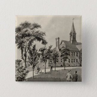 Phillips Exeter Academy 15 Cm Square Badge