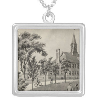 Phillips Exeter Academy Silver Plated Necklace