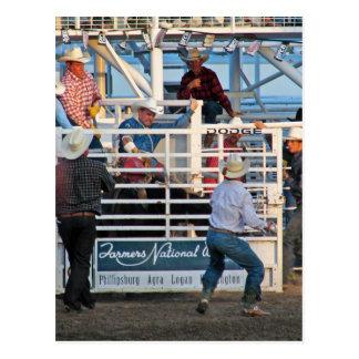 Phillipsburg, Kansas Rodeo 2007 Postcard