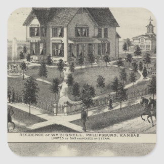 Phillipsburg Traders Bank, Kansas Square Stickers