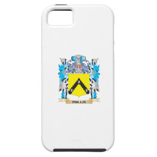 Phillis Coat of Arms - Family Crest iPhone 5 Cover