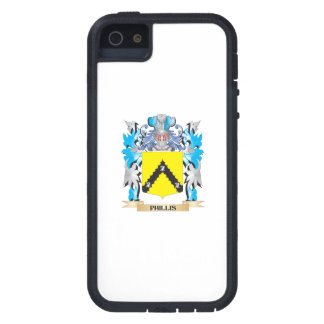 Phillis Coat of Arms - Family Crest iPhone 5 Cases