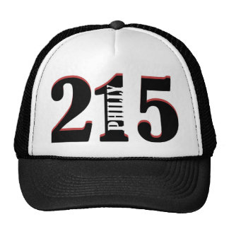 Philly 215 hats