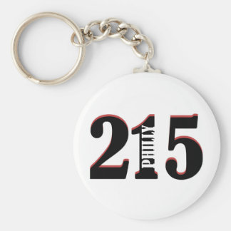 Philly 215 key ring
