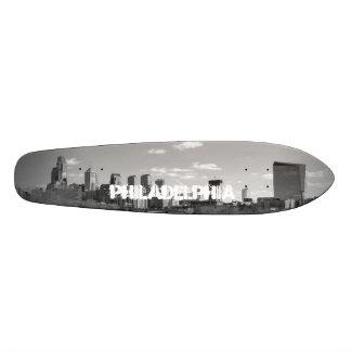 Philly b/w skateboard deck