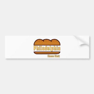 Philly Cheese Steak Bumper Sticker