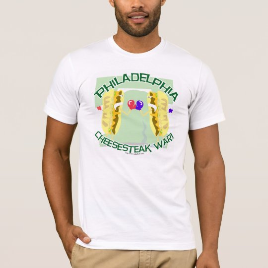 Philly Cheesteak War T-shirt