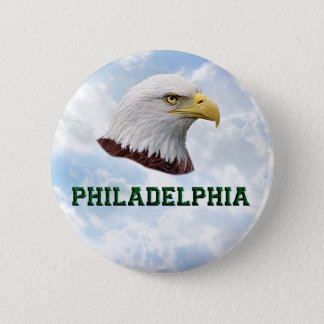 Philly Eagle - Round Button