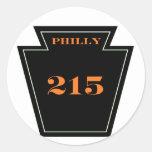 Philly Flyers PA  215 Punk hardcore sticker