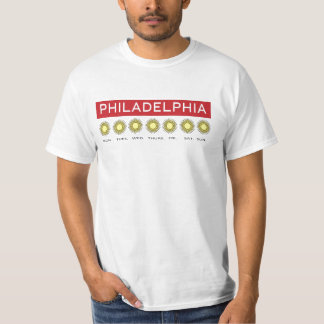 PHILLY FORECAST 'ALWAYS SUNNY' PHILADELPHIA T-Shirt