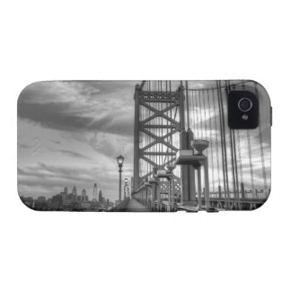 Philly from the bridge iPhone 4 cover