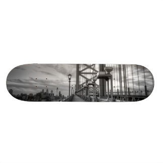 Philly from the bridge skate board decks