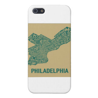 Philly Map T-Shirt iPhone 5 Cases