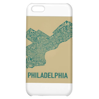 Philly Map T-Shirt iPhone 5C Cover