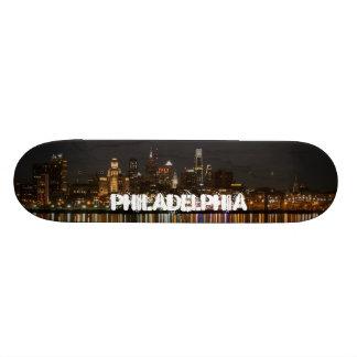 Philly night 21.3 cm mini skateboard deck