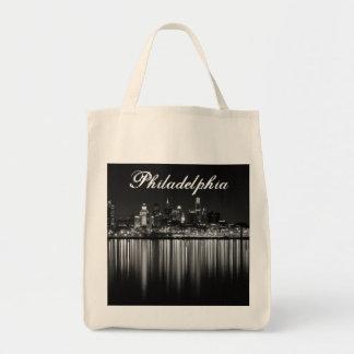 Philly night b/w