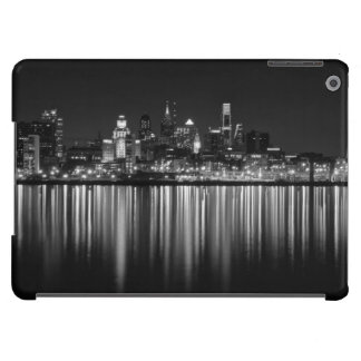 Philly night b/w iPad air cover