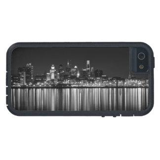 Philly night b/w iPhone 5 case