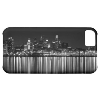 Philly night b/w iPhone 5C covers