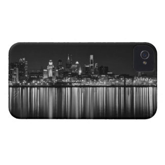 Philly night b/w iPhone 4 cases