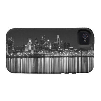 Philly night b/w Case-Mate iPhone 4 covers