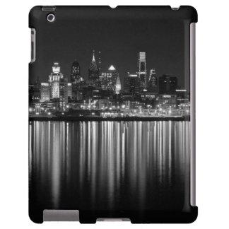 Philly night b/w iPad case