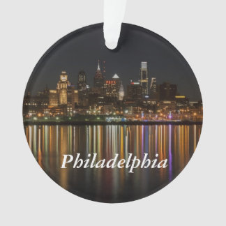 Philly night ornament