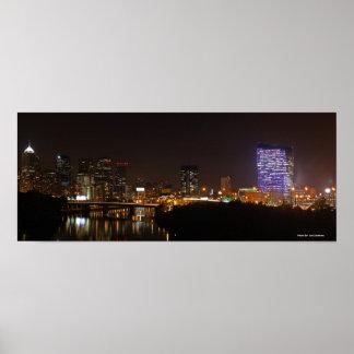 Philly Panoramic, Photo By: Joe Dantone Poster