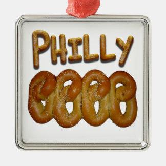 Philly Pretzels Christmas Ornament