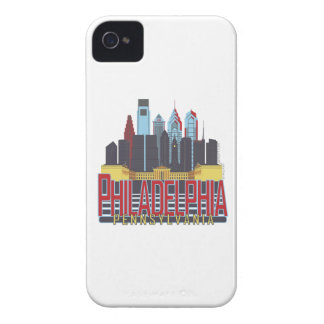 Philly Red & Blue Case-Mate iPhone 4 Case