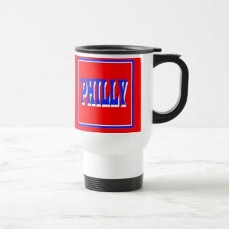Philly Red Square Travel Mug