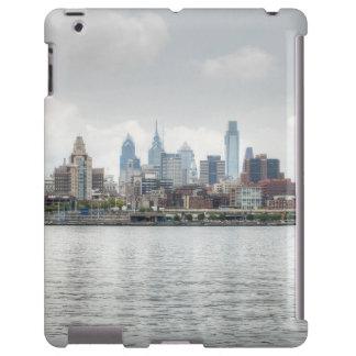 Philly skyline 2 iPad case