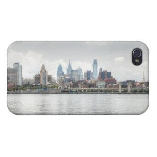 Philly skyline 2 iPhone 4/4S case