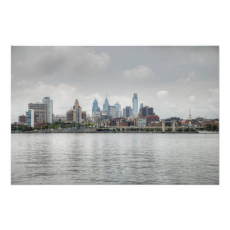 Philly skyline 2 posters