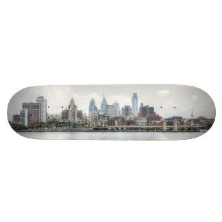 Philly skyline 2 skateboard