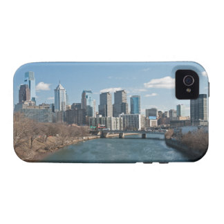 Philly skyline vibe iPhone 4 case